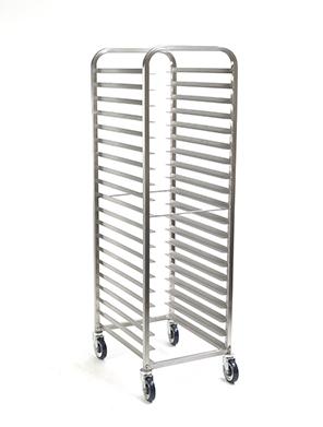 SQUARE Frame™ Aluminum Bakery Rack