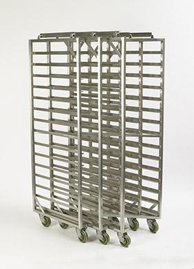 Z-FRAME® Nesting Baxter Oven Racks - Single End Load